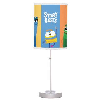 Abajur Candeeiro de mesa colorido de StoryBots