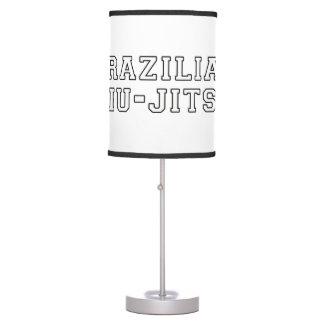 Abajur De Mesa Brasileiro Jiu Jitsu