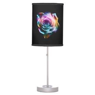 Abajur De Mesa Candeeiro de mesa colorido do rosa da tintura do