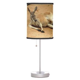 Abajur De Mesa Canguru vermelho australiano