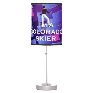 Abajur De Mesa Esquiador SUPERIOR de Colorado