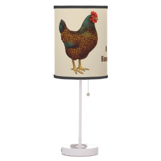 Abajur De Mesa Eu amo minhas galinhas de Barnevelder