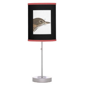 Abajur De Mesa Impressão de Audubon do pássaro de estado da