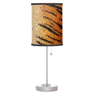 Abajur De Mesa Pele do animal do tigre de Bengal