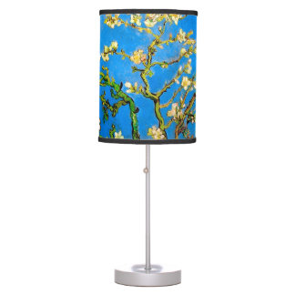 Abajur De Mesa Vincent van Gogh - belas artes de florescência da