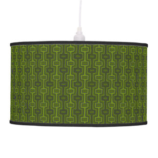 Abajur De Teto Azeitona estes lâmpada, mistura & fósforo - verdes