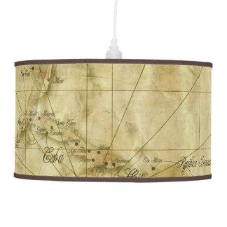 Abajur De Teto Caribe - mapa velho… V2