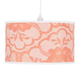 Abajur De Teto Encanto real branco Glam do laço cor-de-rosa do
