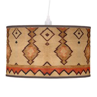 Abajur De Teto Tapete tecido do Lampshade design do sudoeste de