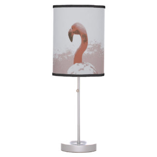 Abajur Flamingo cor-de-rosa do design 60