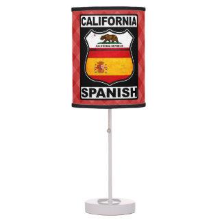 Abajur Luz americana espanhola de Califórnia