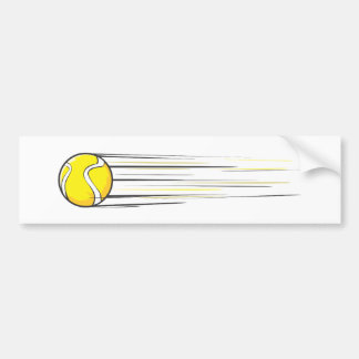 Abanada da bola de tênis adesivo para carro
