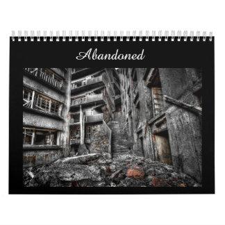 Abandonado: Calendário da fotografia de lugares de