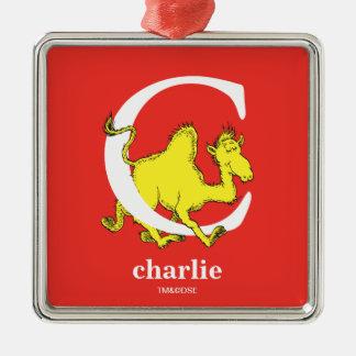 ABC do Dr. Seuss: Letra C - O branco | adiciona Ornamento De Metal