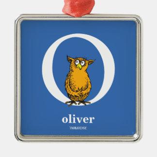 ABC do Dr. Seuss: Letra O - O branco   adiciona Ornamento De Metal