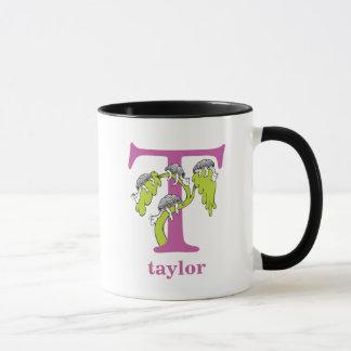 ABC do Dr. Seuss: Letra T - O roxo | adiciona seu Caneca