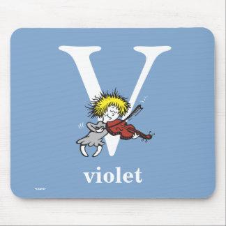 ABC do Dr. Seuss: Letra V - O branco | adiciona Mousepad