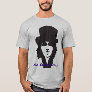 Abe o t-shirt de RockStar Camiseta