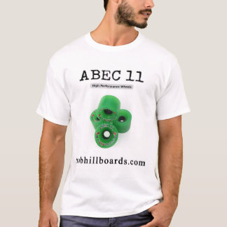 "Abec 11"" GRIPPINS"" Longboard roda a camisa"