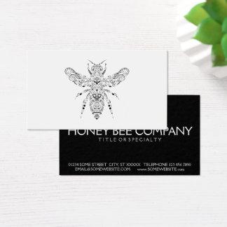 abelha da beleza cartão de visitas