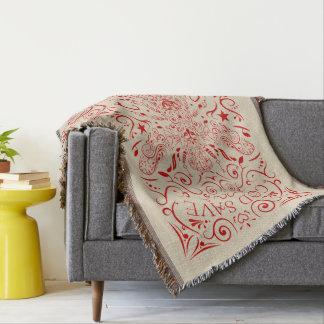 abelha de hino nacional do Reino Unido Throw Blanket