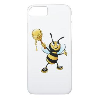 Abelha de sorriso do mel dos desenhos animados que capa iPhone 7