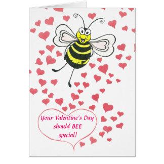 ABELHA - dia dos namorados - cartão