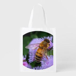 Abelha do mel sacola ecológica