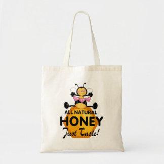 Abelha do mel sacola tote de mercado
