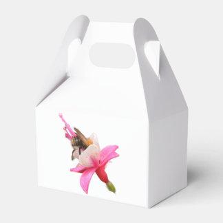 Abelha e fúcsia caixinha de lembrancinhas para festas