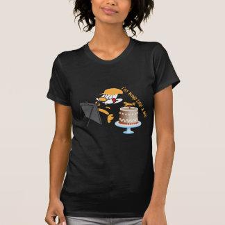 Abelha engraçada dos desenhos animados camisetas