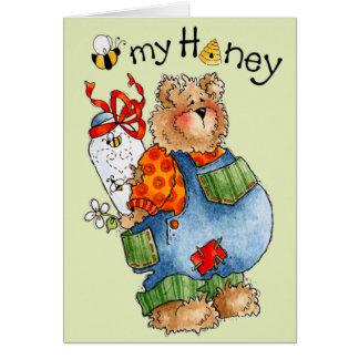 Abelha meu mel - o cartão dos namorados
