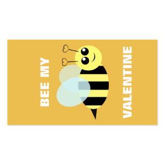 Abelha meus mini namorados cartão de visita