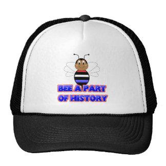 Abelha um a peça do chapéu da história boné