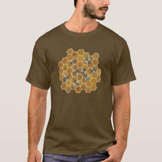 abelhas do mel camiseta