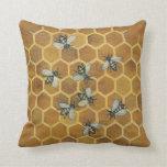 Abelhas do mel travesseiros
