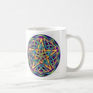 Abençoado seja caneca de café