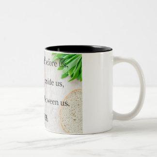 Abençoe-nos caneca de café