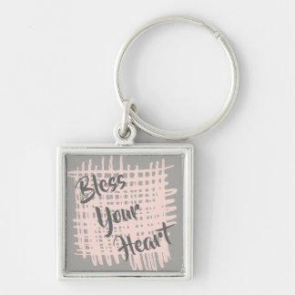 Abençoe seu chaveiro do coração