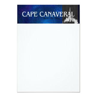 ABH Cabo Canaveral Convite 12.7 X 17.78cm