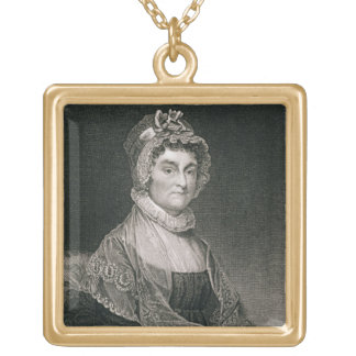 Abigail Adams, gravado por G.F. Tempestade (fl.c.1 Pingente