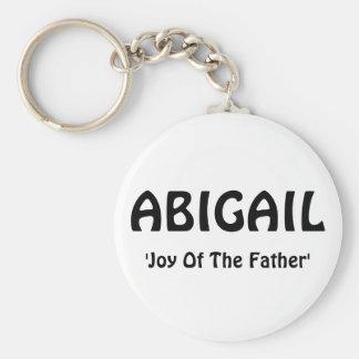 ABIGAIL, 'alegria do Father Chaveiros
