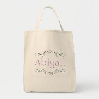 Abigail - as videiras doces personalizaram o bolsa
