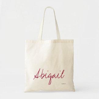 Abigail - sacolas das canvas da assinatura bolsas de lona