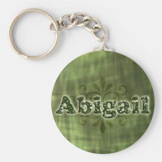 Abigail verde chaveiro