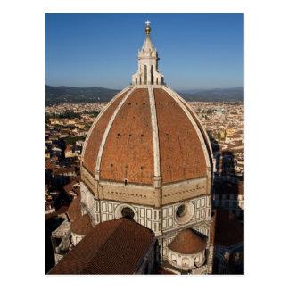 Abóbada do cartão da catedral de Florença