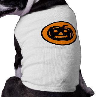 Abóbora bonito do Dia das Bruxas Camisa Para Cães