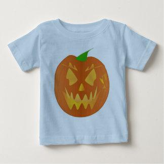 Abóbora do Dia das Bruxas na luz - azul Tshirt