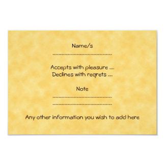 Abóbora, preto e laranja do Dia das Bruxas Convite 8.89 X 12.7cm