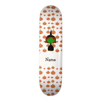Abóboras conhecidas personalizadas da laranja da b skate boards